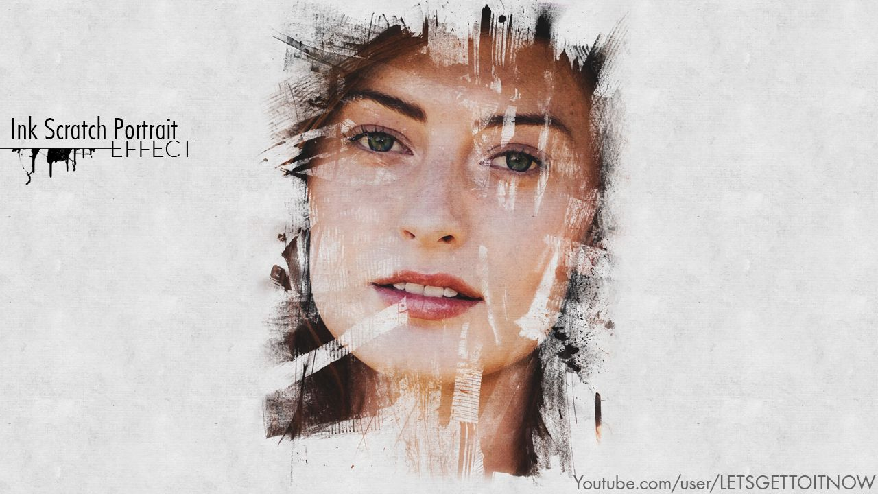 Ink scratch portrait effect photoshop tutorial lightroom and ink scratch portrait effect photoshop tutorial baditri Choice Image