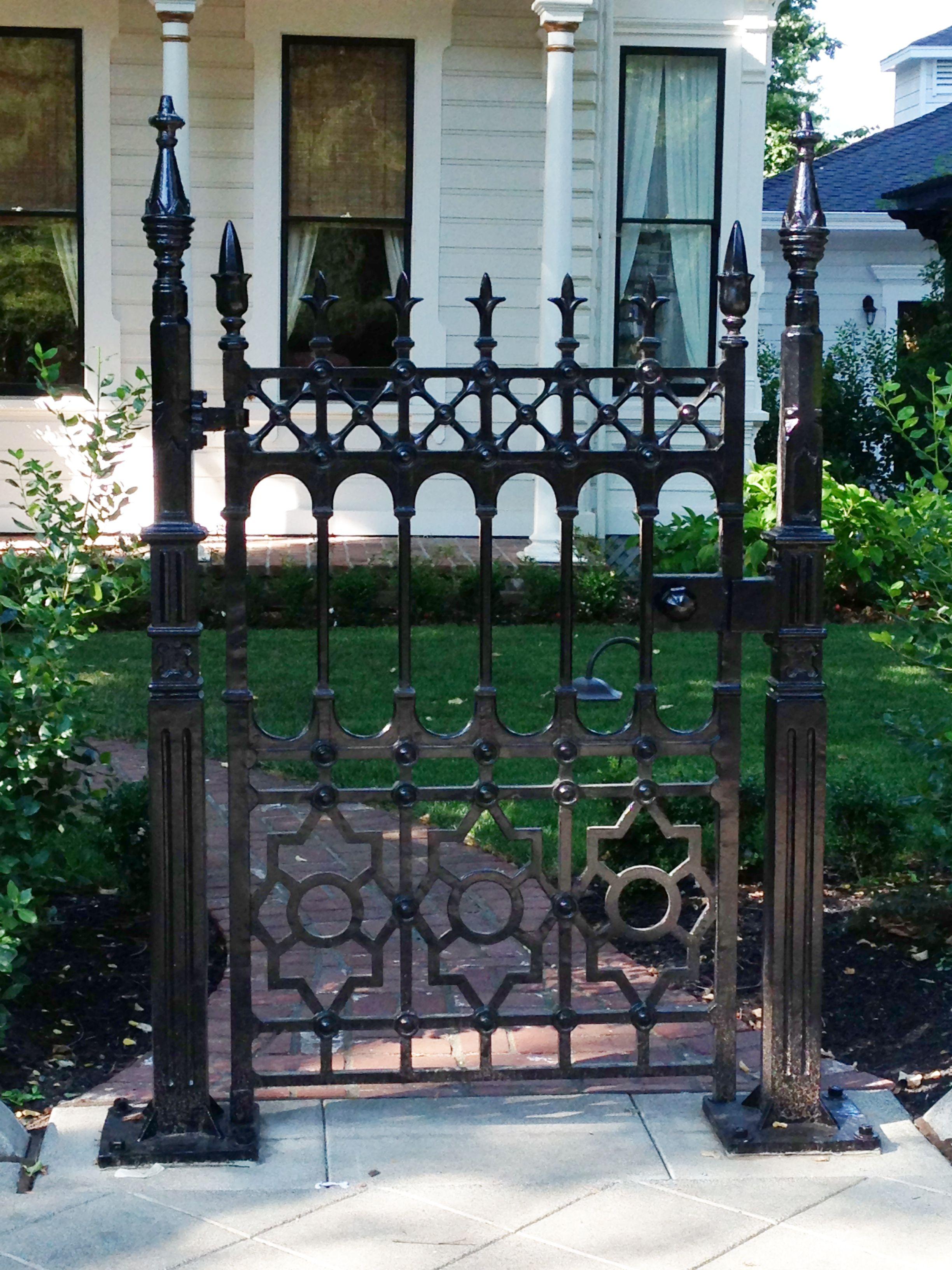Iron gate Gates & Doors Pinterest