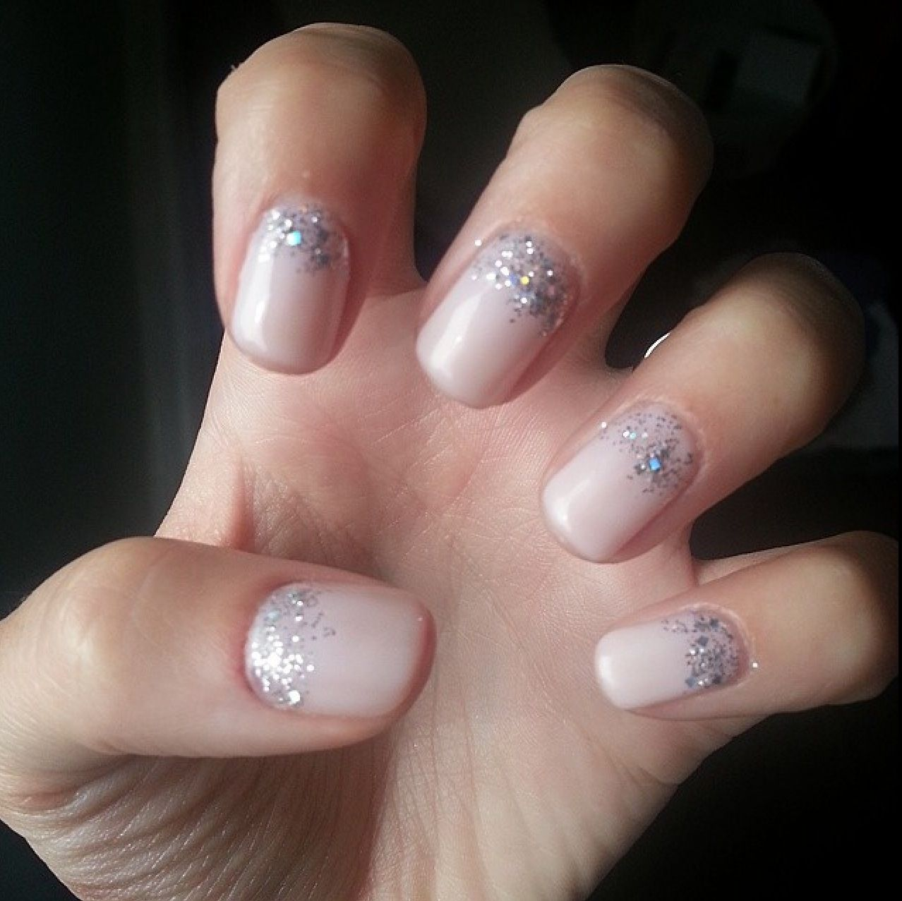 Bridal Gel Nail Polish: Wedding Nails!! CND Shellac In 'Romantique' With An OPI