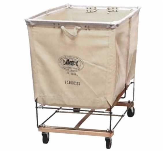 Dandux Elevated Basket Bulk Trucks Laundry Cart Laundry Chute