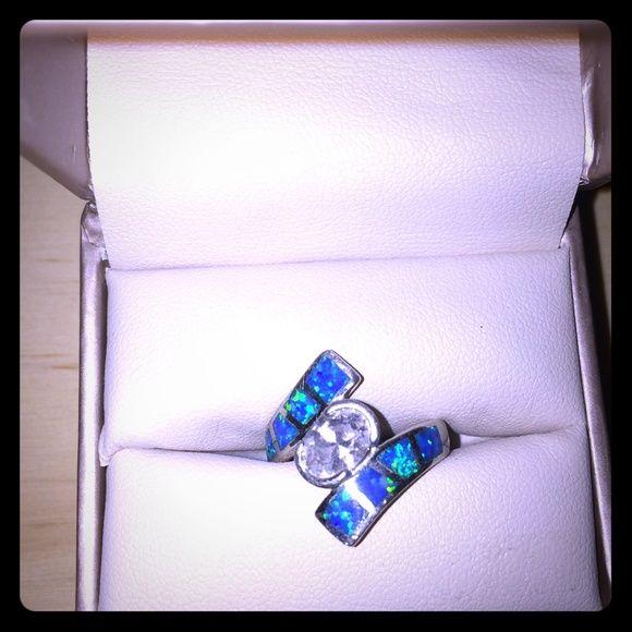 Tesori Mondo Larimar Ring Ring