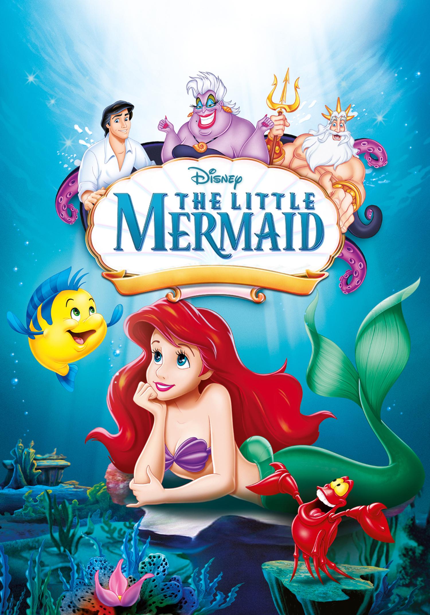 Image result for LITTLE MERMAID POSTER Little mermaid