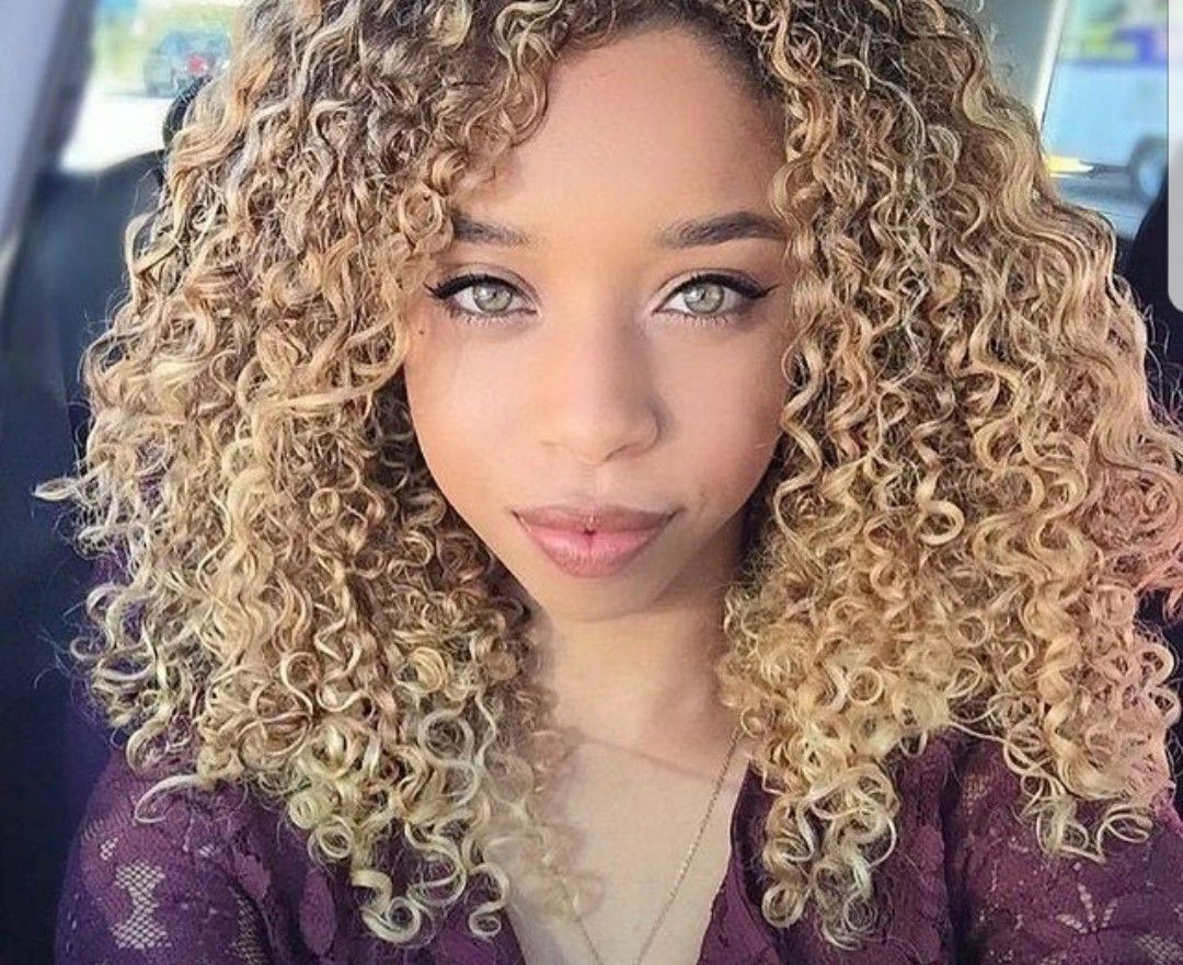 Amateur Blonde Teen Curly Hair Missing You Like Crazy