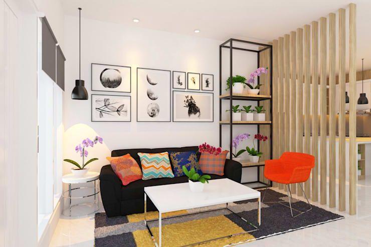 Ruang Tamu Ruang Keluarga By Tata Griya Nusantara Desain Interior Dekorasi Ruang Tamu Kecil Cat Ruang Tamu