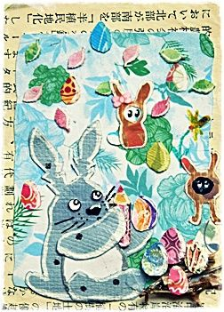 12-89 Totoro Seasons 1-4 Spring by =Artistically-DE on deviantART