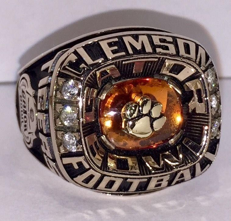 tigers acc rings product football best tiger clemson ring championship