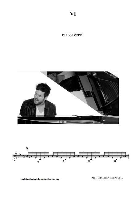 Vi Pablo López Partituras Piano Partituras Alboran