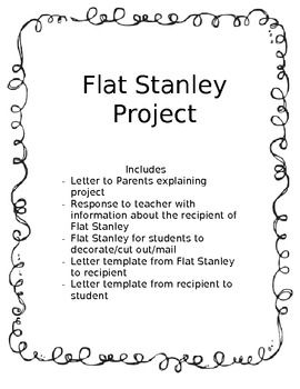 Flat Stanley Response Letter from i.pinimg.com
