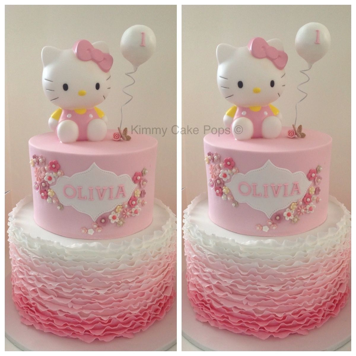 Hello Kitty Children S Birthday Cakes