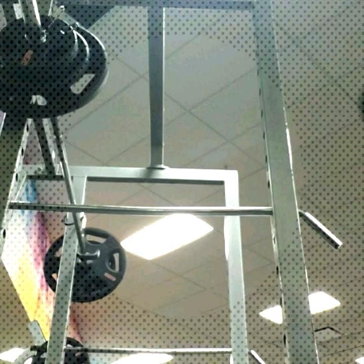 I failed the last rep on the second set, got a little too low and the bar slipped from the correct