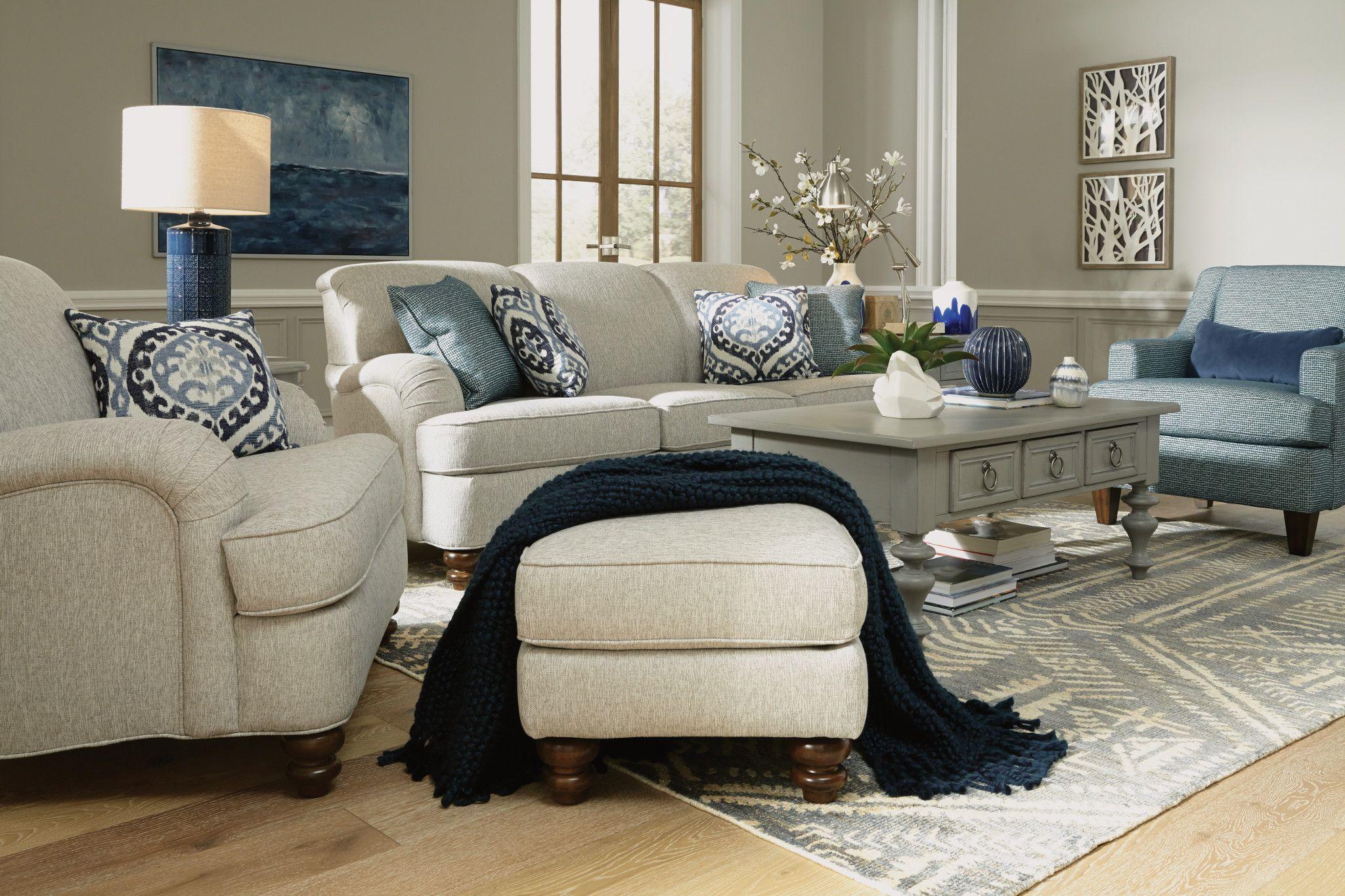 Collective Furniture Flexsteel Furniture Vintage Inspired Decor