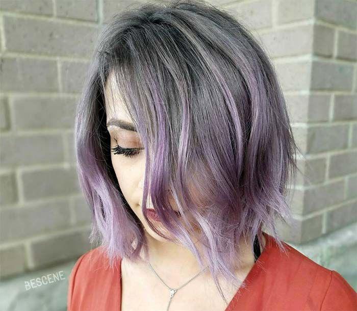 50 Lovely Purple Lavender Hair Colors
