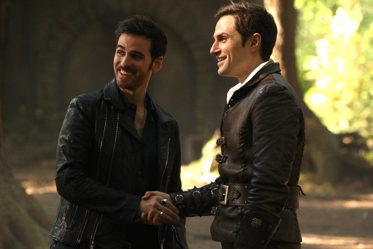 Colin O Donoghue Andrew J West Once Upon A Time Colin O