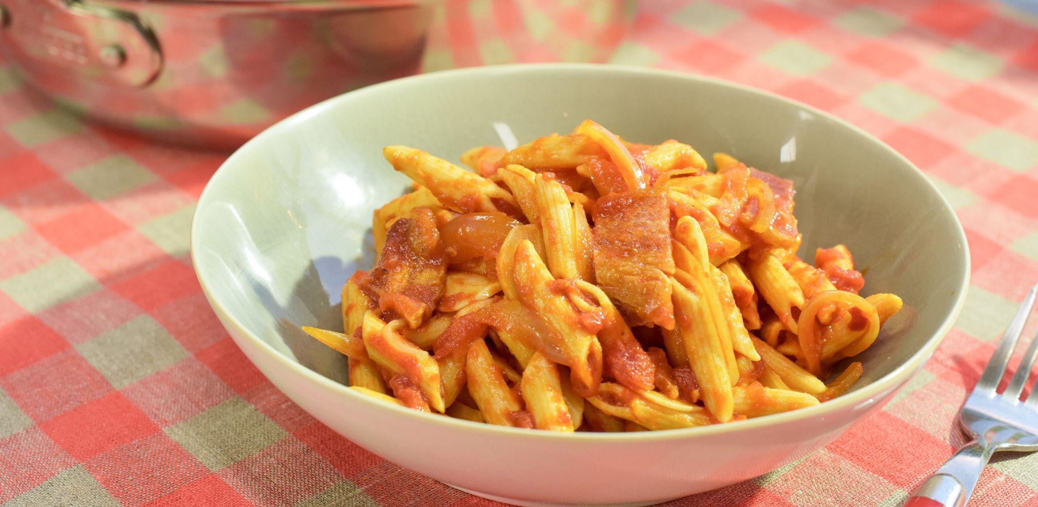 Amatriciana Sauce   Recipe   Amatriciana sauce. Food network recipes. Amatriciana