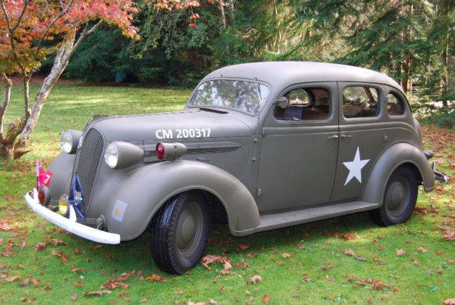 1937 Plymouth Canadian Scottish Army Staff Car Classic Cars Victoria Kijiji Army Vehicles Canadian Army Car
