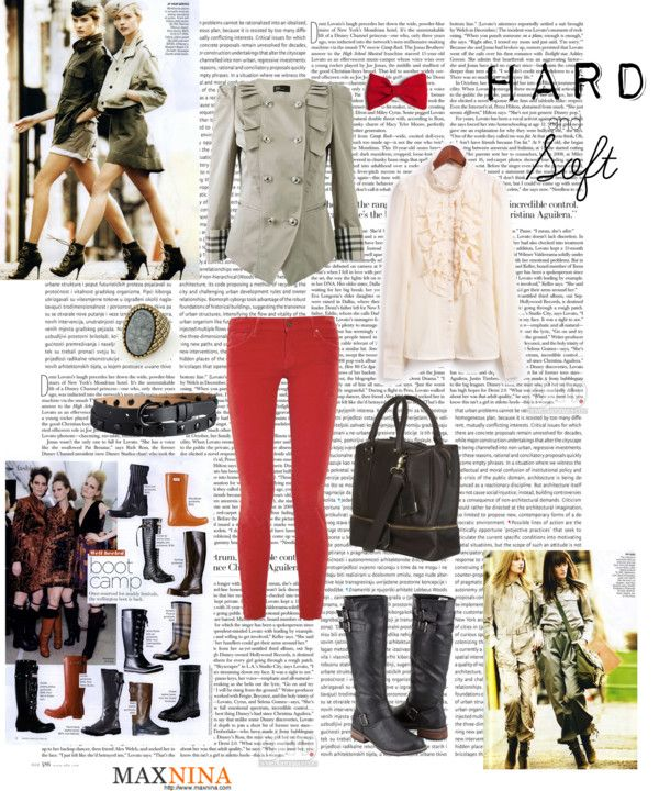 """""""Hard and Soft"""" by fleurs-noirs ❤ liked on Polyvore"""