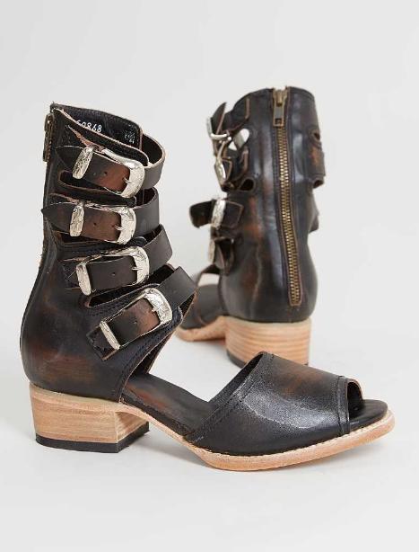 Freebird by Steven Pilar Heeled Sandal - Women's Shoes in Black