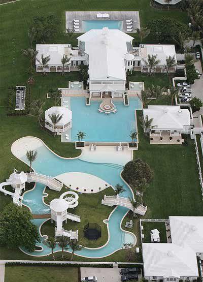 La maison de Céline Dion sur Jupiter Island  Maison de celine