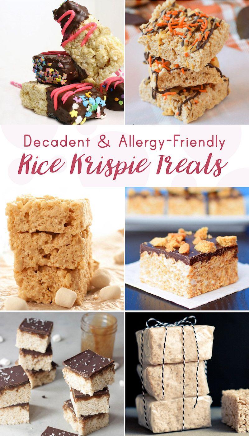 6 AllergyFriendly Rice Krispie Treats Allergy free