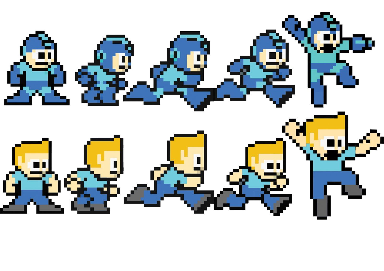 8 bit characters template - Google Search   8 Bit   Character
