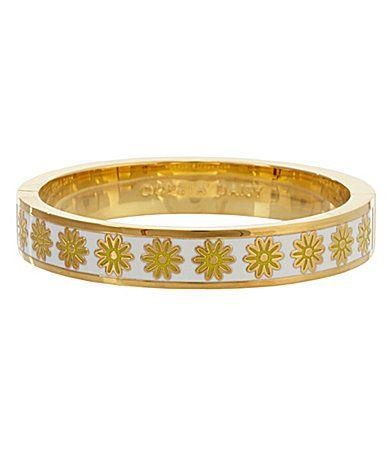 kate spade new york Oops A Daisy Bangle Bracelet #Dillards
