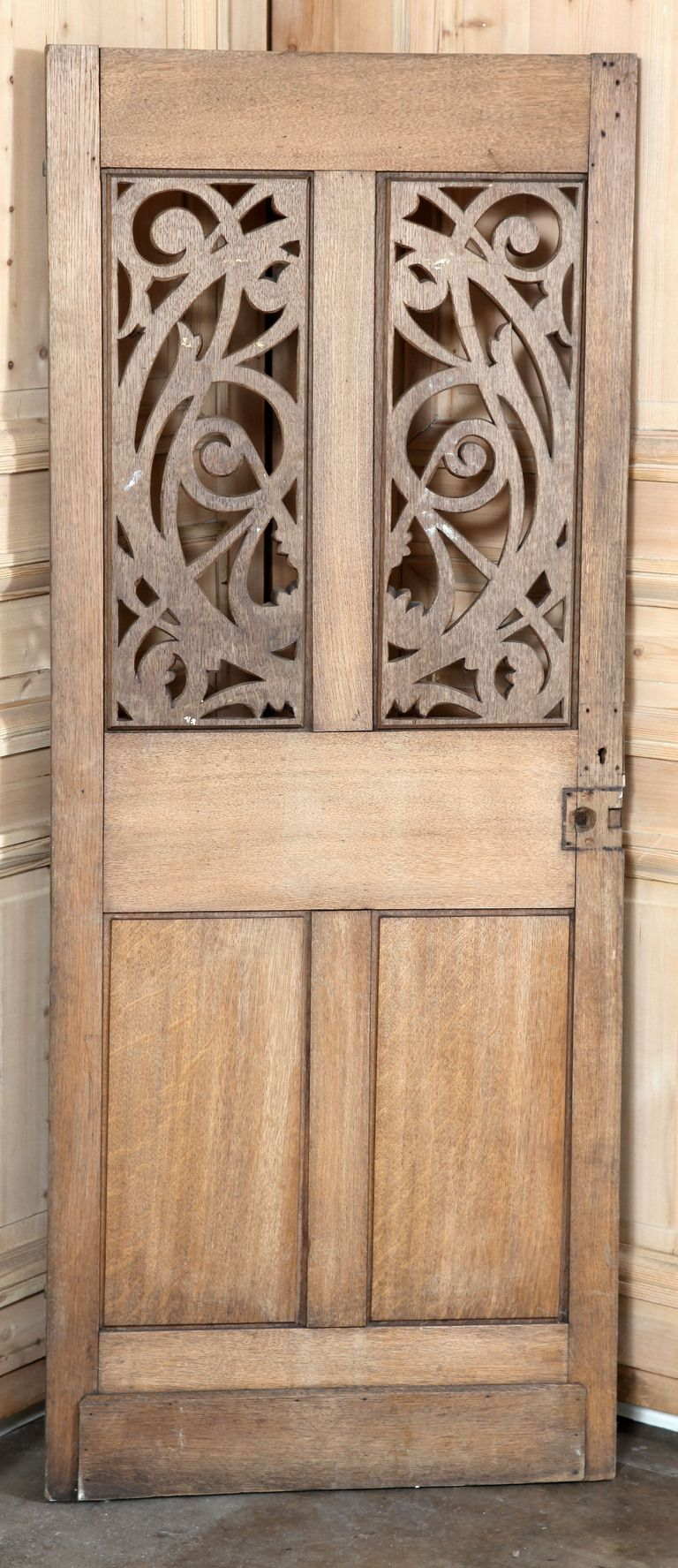 Antique French Gothic Pantry Door - Antique French Gothic Pantry Door Pantry, Doors And Decorative