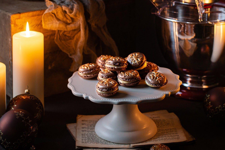 Weihnachts Macarons Mit Marzipancreme Die Lieblingskuche Von Qvc Kekse Mit Macarons Feines Mandelaroma Cremige Fullung K Marzipan Creme Lecker Marzipan