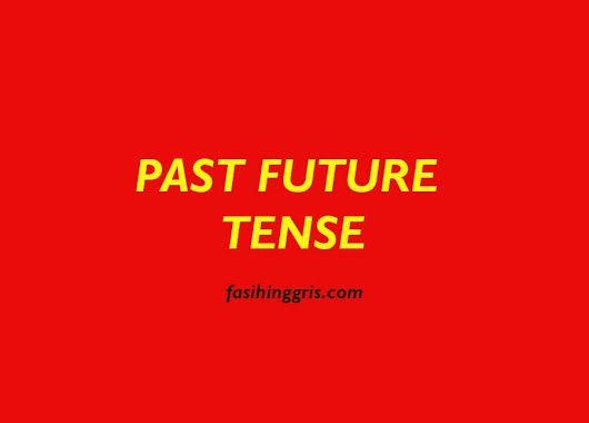 Pengertian Rumus Fungsi Dan Contoh Kalimat Past Future Tense
