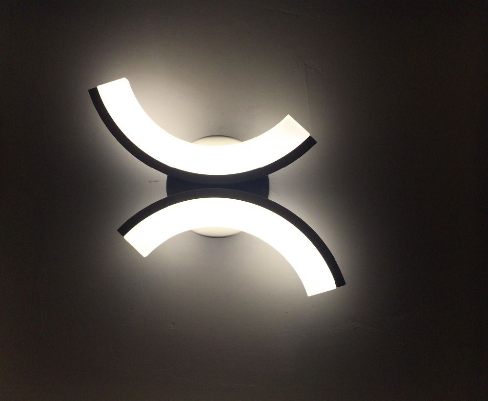 creative design led wall sconces bathroom bedside light wall mount wall lighting fixture 15w 100