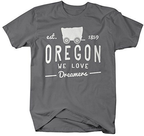 Shirts By Sarah Men's Oregon State Slogan Shirt We Love Dreamers T-Shirt Est. 1859