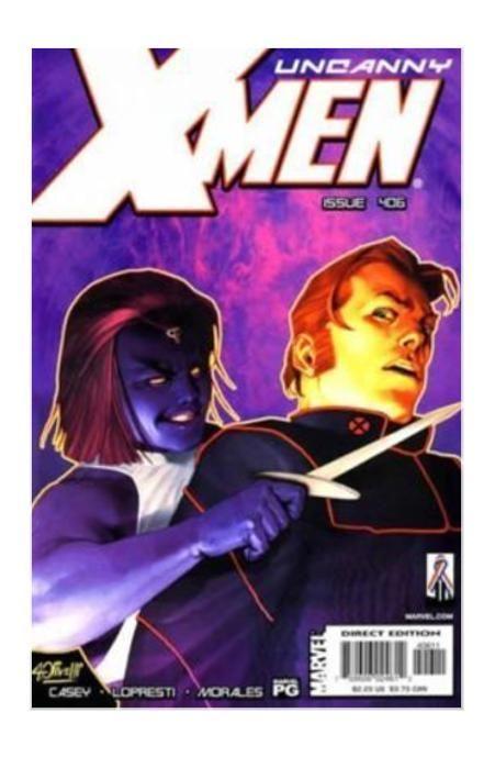 The Uncanny X-Men #406 (Jul 2002, Marvel) - FVF