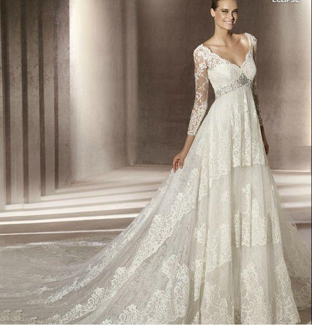 1000  images about Wedding dresses &lt-3 on Pinterest - Sleeve ...