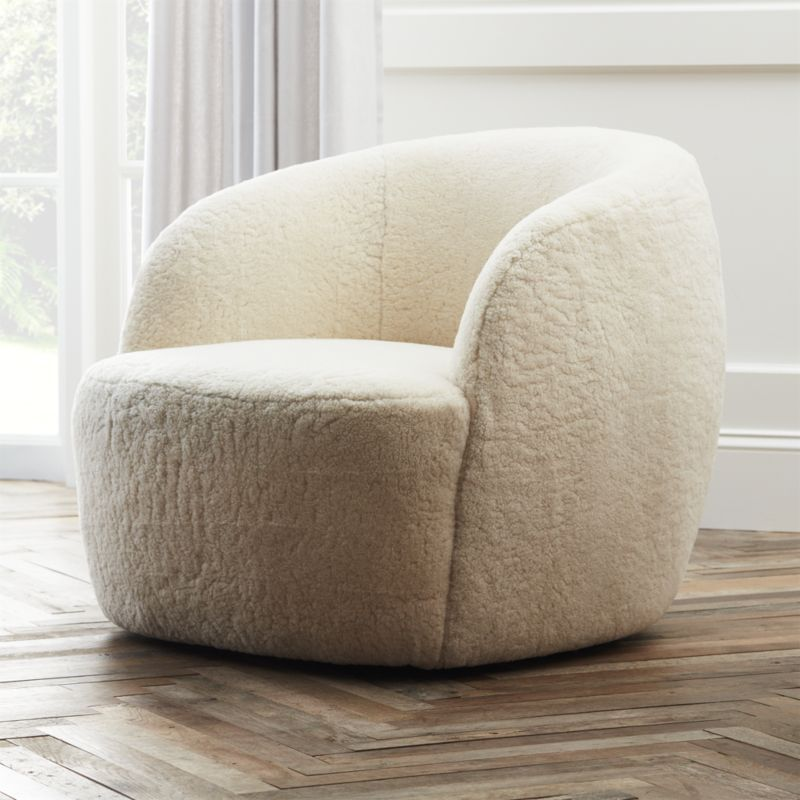 Swivel Chair Near Me Lillian August Chairs Gwyneth Special Edition Shearling Sold Out Shop The Is Really To In Fact We Only Made 40 Pieces Says