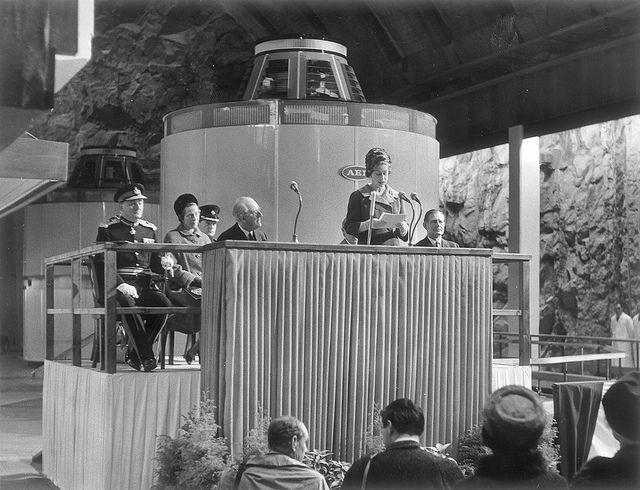 La Reina Isabel inauguró en Escocia la planta hidroeléctrica de Cruachan de nuestra filial ScottishPower.