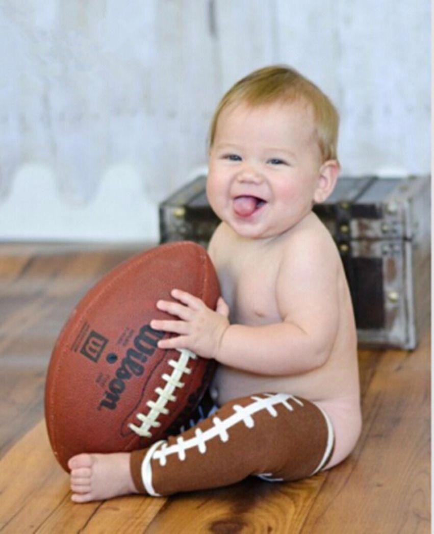 Infant Boys Football Leg Warmers Toddler