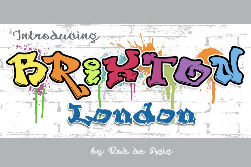 Download Brixton (Font) by Rodi.de.Artist.com | Graphic design ...