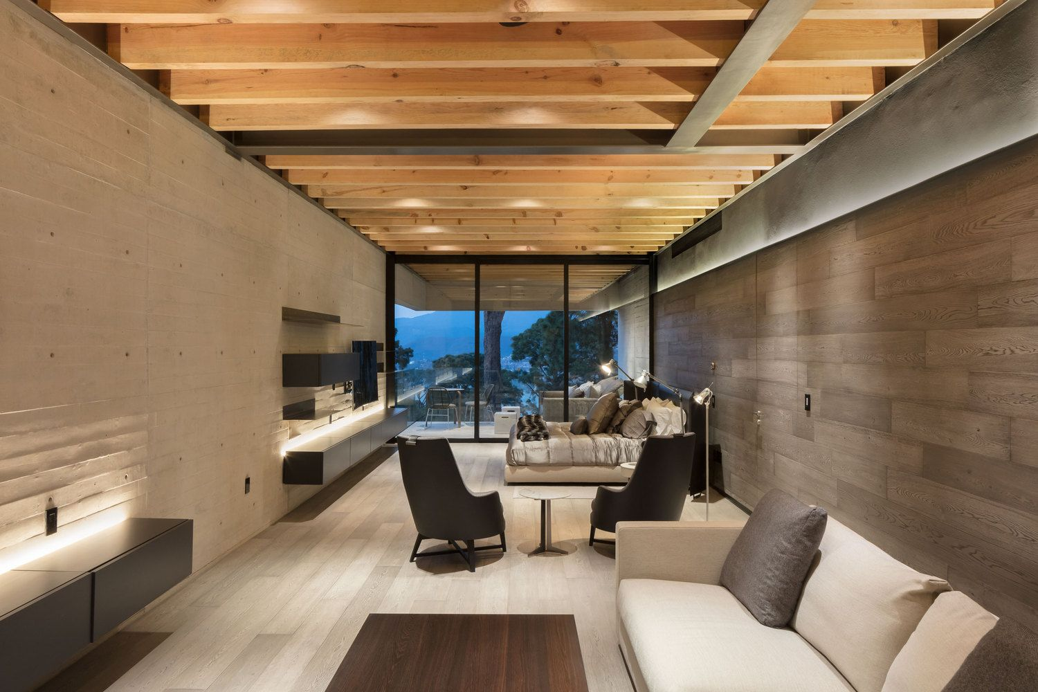 modern house interiors%0A Gallery of Lake View House   grupoarquitectura