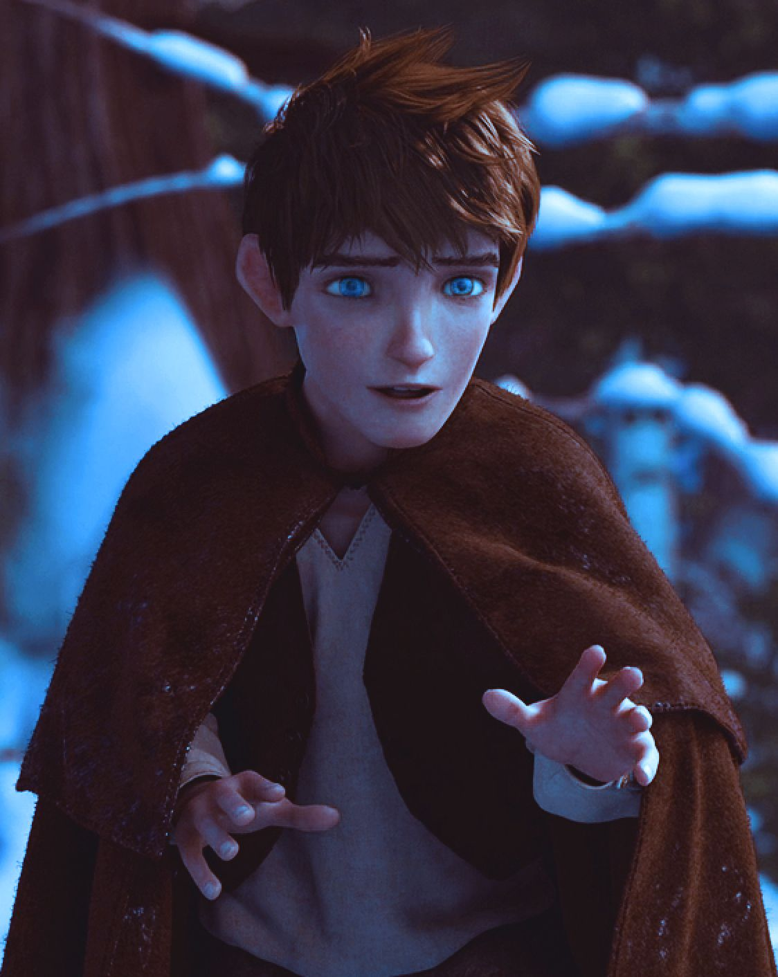 This Is My Dream Guy Brown Hair Striking Icy Blue Eyes Gorgeous