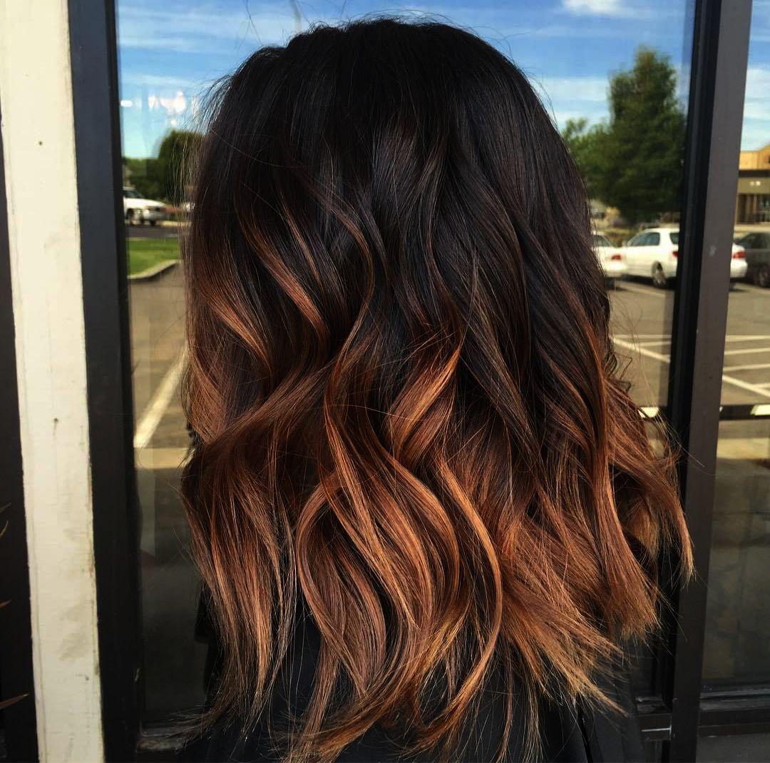 Haircut Near Me Philadelphia Through Cute Hair Dye Ideas For Redheads Off Red And Blonde Hair Color Ide Brown Ombre Hair Brown Ombre Hair Color Dark Ombre Hair