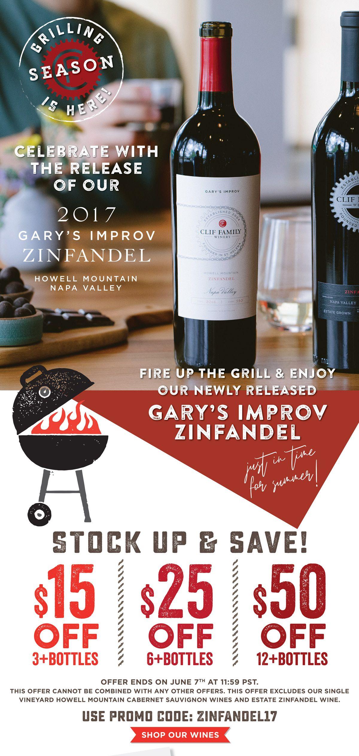 Grilling With Gary S Zinfandel Zinfandel Clif Bing Cherries