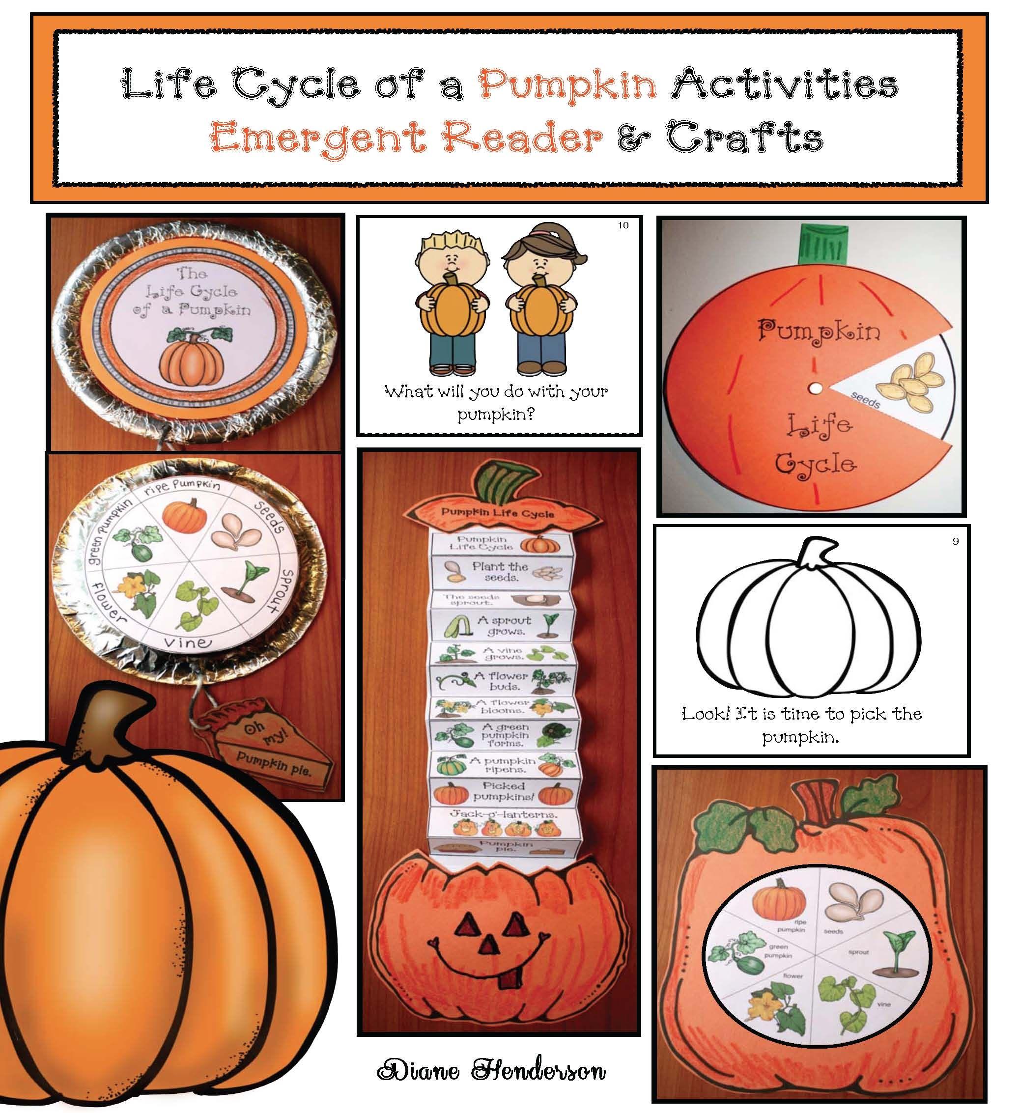 Life Cycle Of A Pumpkin Activities Emergent Reader And Crafts Pumpkin Activities Pumpkin Life Cycle Pumpkin Lesson Plans [ 2266 x 2074 Pixel ]