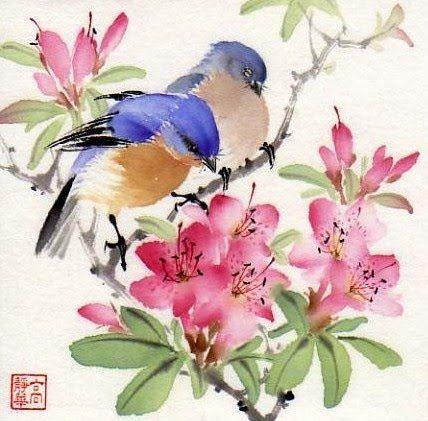Chinese Brush Painting Dibujos Japoneses Arte De Acuarela Arte