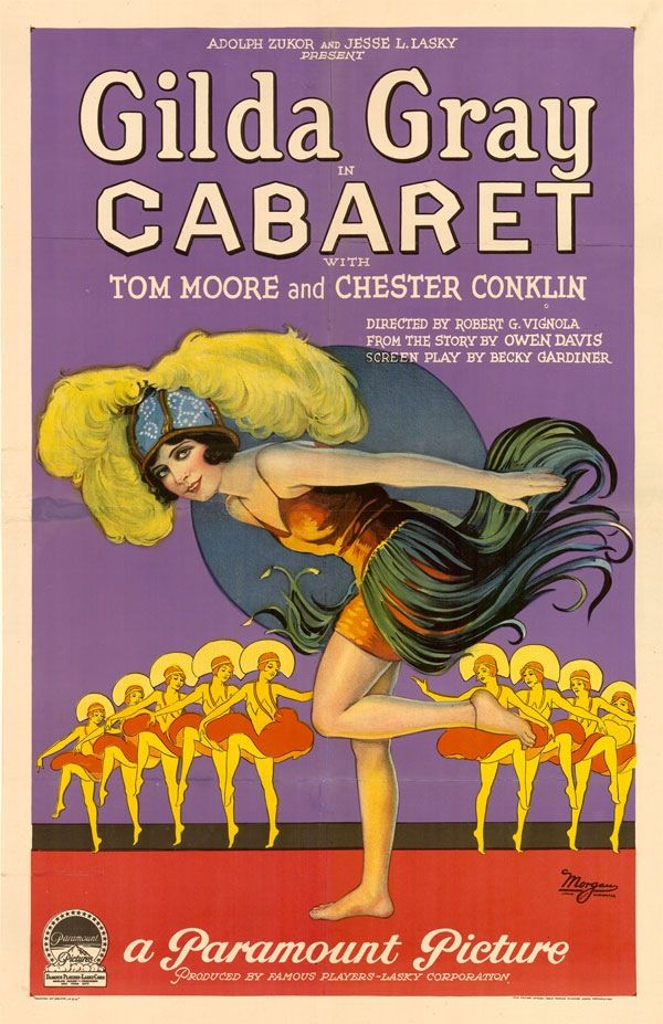 Gilda Gray in Caberet, 1927