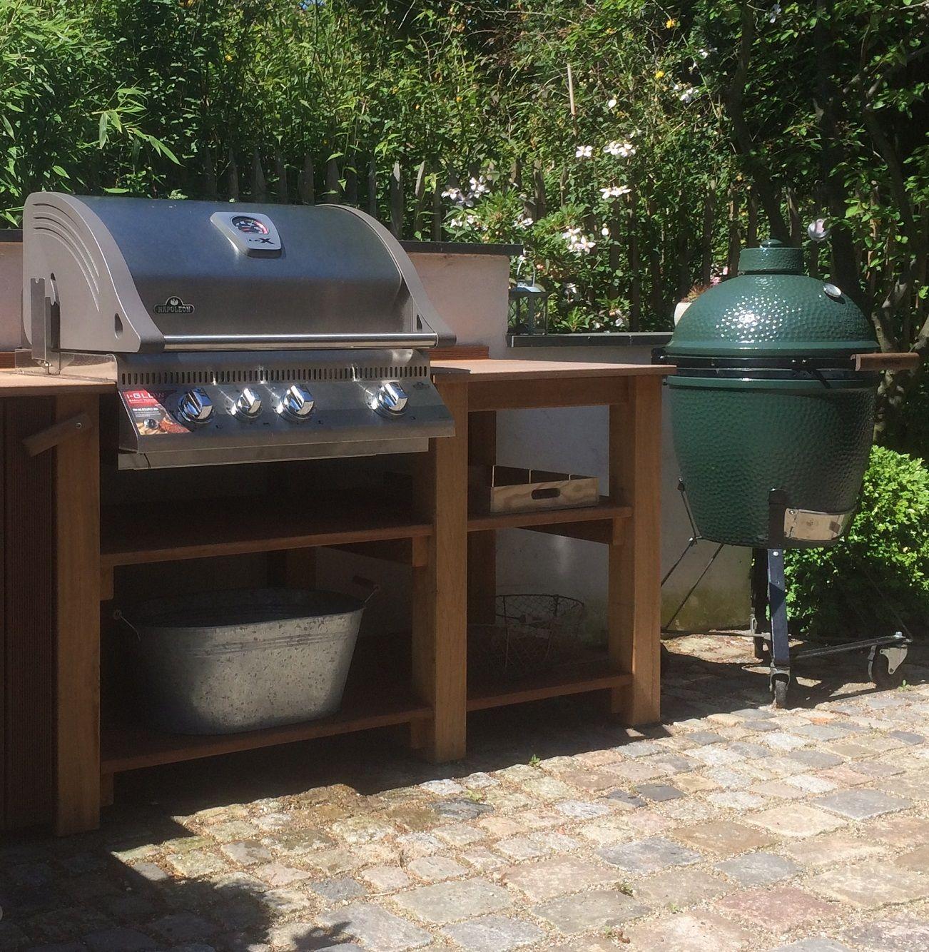 Eine Outdoorküche im Sommer ist einfach etwas ganz Besonderes. Für ...