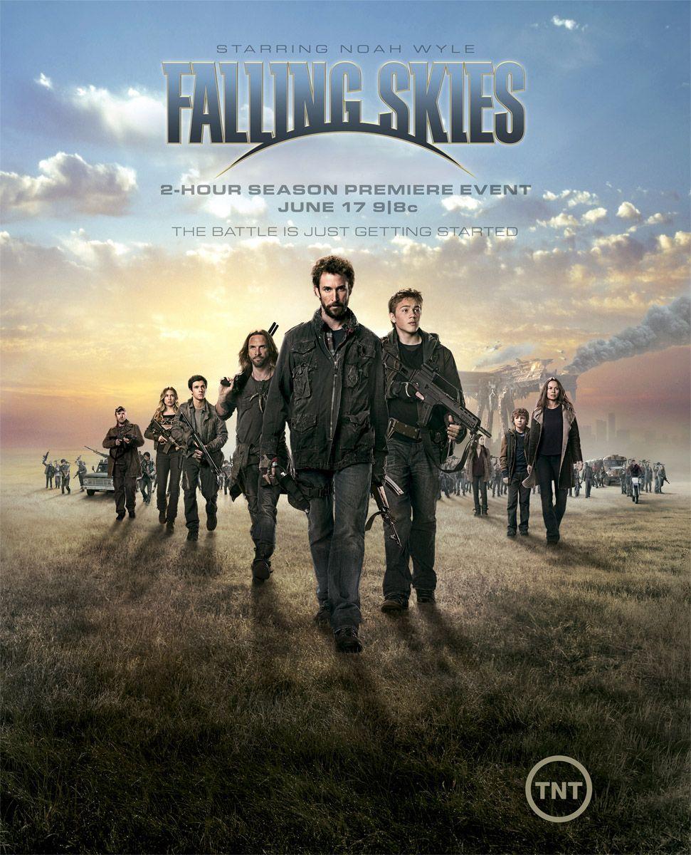 Veja Novo Poster Da Segunda Temporada De Falling Skies Supernovo Net Falling Skies Sky Tv Series Movies