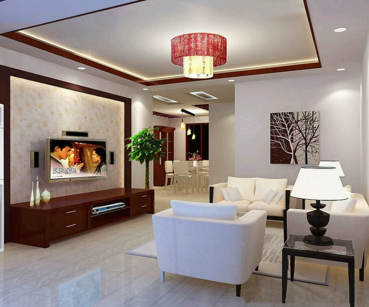 Indian Home Interior Design For Hall Middle Class In Of Modern