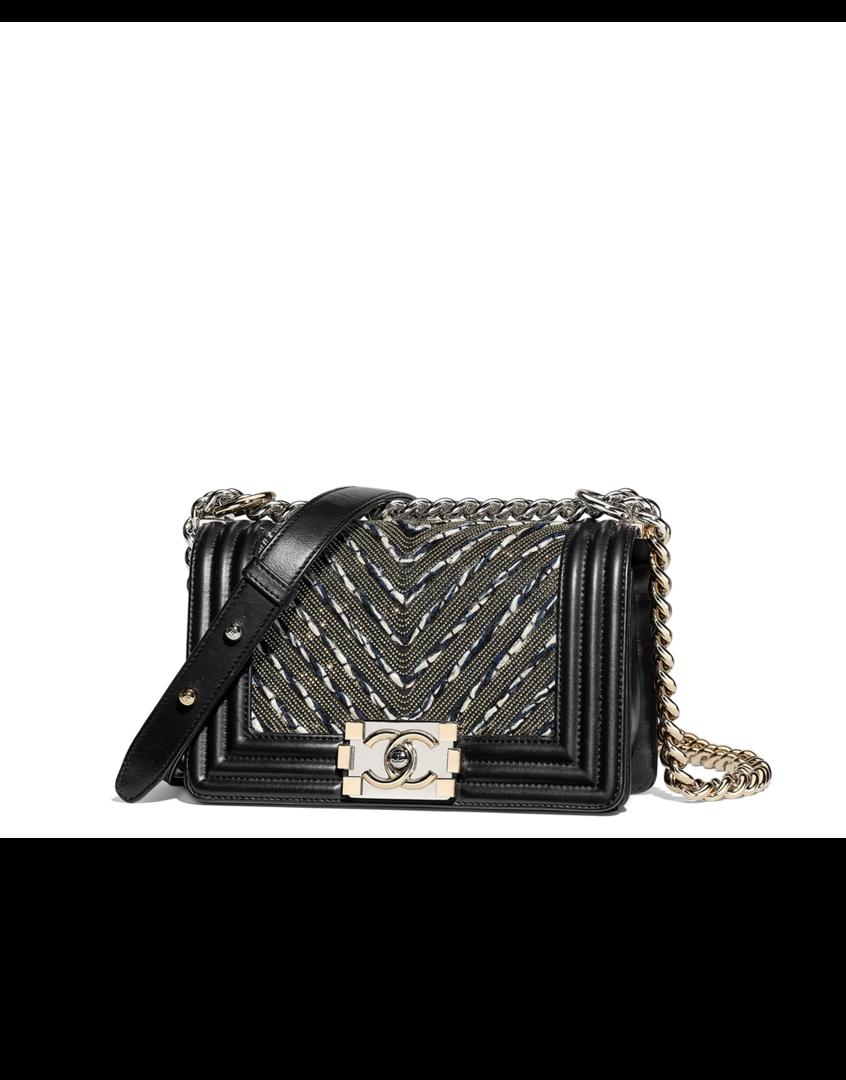 7ef7a093884f Camera case, lambskin & silver-tone metal-black - CHANEL | Chanel in ...