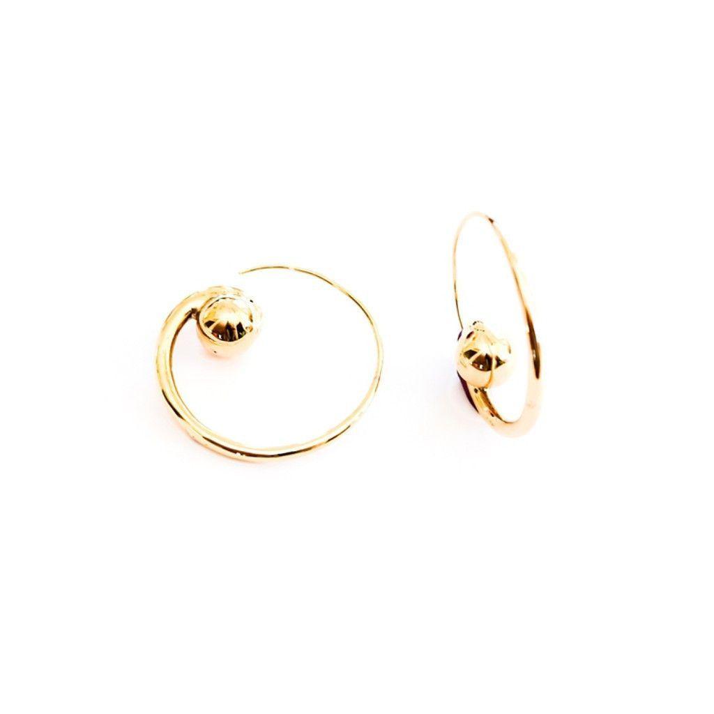 Bisjoux - Large Dobi Earrings
