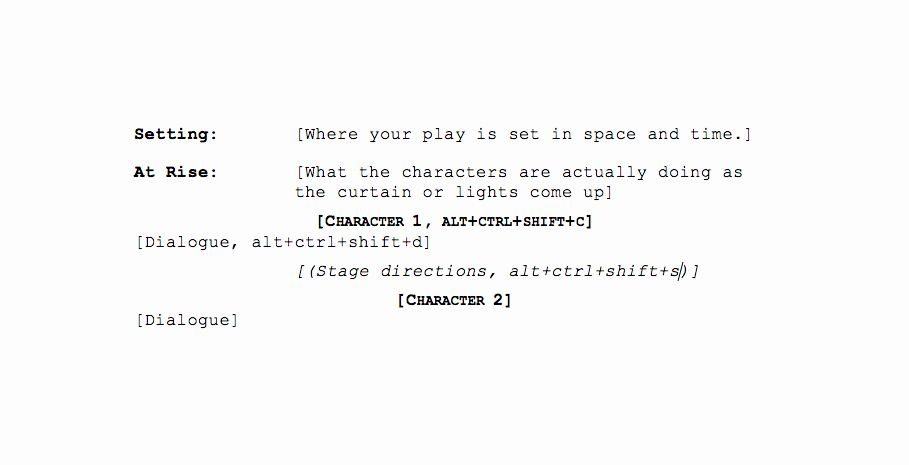 Microsoft Word Screenplay Template New How To Format Your Script