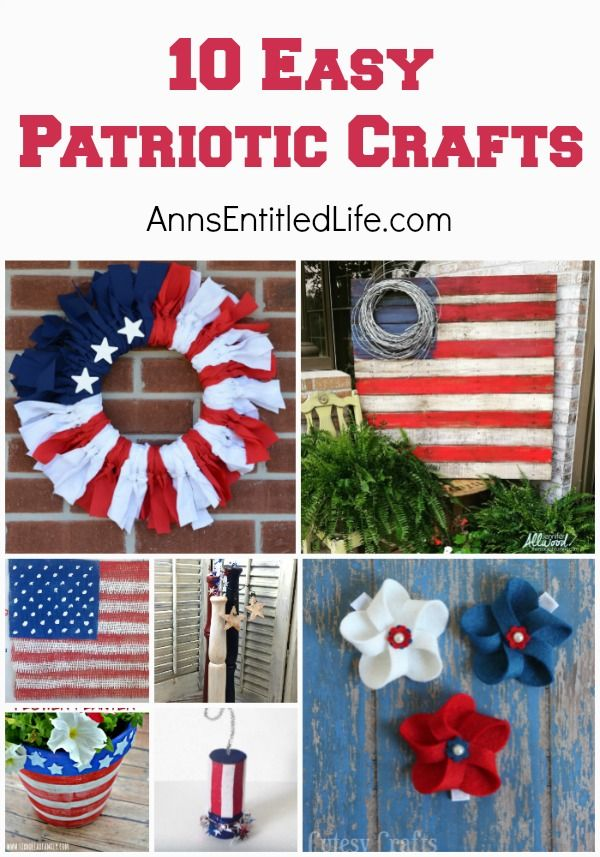 10 Easy Patriotic Crafts Looking For A Simple Patriotic Craft Idea